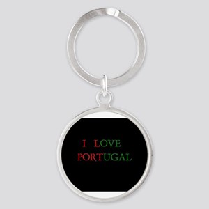 I LOVE PORTUGAL Keychains