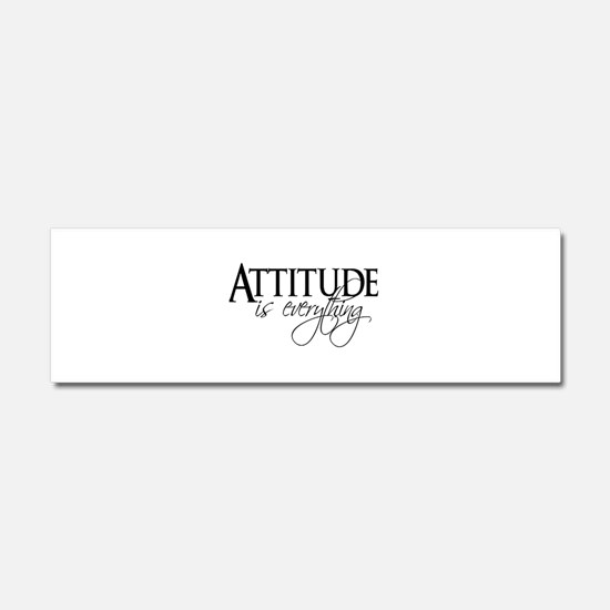 Attitude is everything Car Magnet 10 x 3