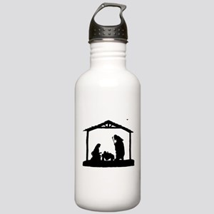 Nativity Stainless Water Bottle 1.0L