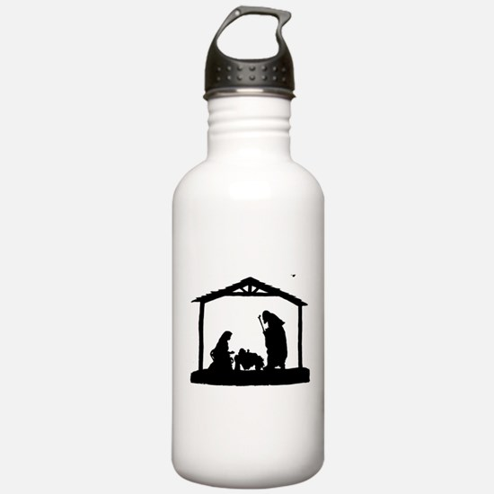 Nativity Water Bottle