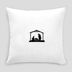 Nativity Everyday Pillow