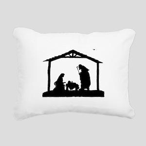 Nativity Rectangular Canvas Pillow