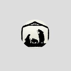 Nativity Mini Button
