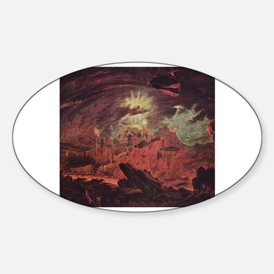 To hell with islam Sticker (Oval)