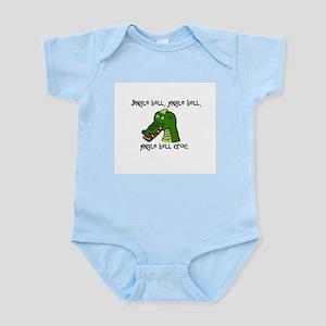 Jingle Bell Croc - Holiday Crocodile Des Body Suit