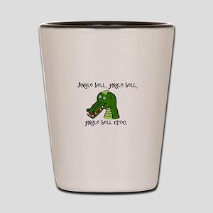 Jingle Bell Croc - Holiday Crocodile De Shot Glass