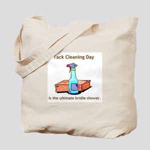 tack cleaning day.JPG Tote Bag