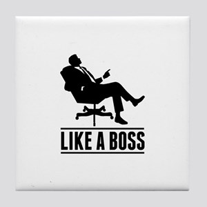 Like a Boss Tile Coaster