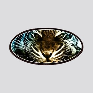 Fractal Tiger Art Patch