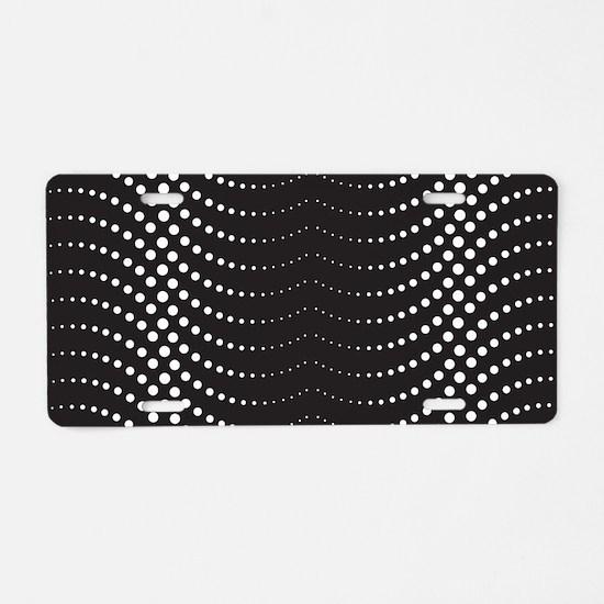 Decorative Pattern Aluminum License Plate
