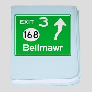 NJTP Logo-free Exit 3 Bellmawr baby blanket