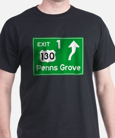 NJTP Logo-free Exit 1 Penns Grove T-Shirt