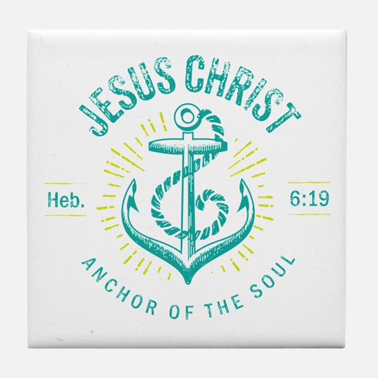 Anchor of the Soul Tile Coaster