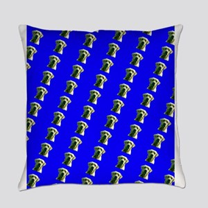 Cute Blue Labrador Retriever Frank Everyday Pillow