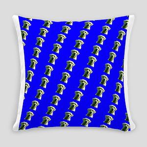 Cute Blue Labrador Retriever Frank Everyday Pillow