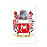 McCorkle Rectangle Car Magnet