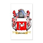 McCorkle 20x12 Wall Decal