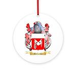 McCorkle Round Ornament