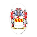 McCorkindale Oval Car Magnet