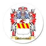McCorkindale Round Car Magnet