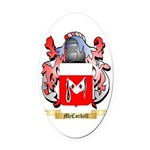 McCorkell Oval Car Magnet