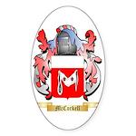 McCorkell Sticker (Oval 50 pk)