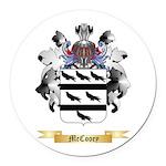 McCooey Round Car Magnet