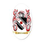 McConvey Oval Car Magnet