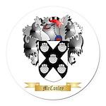McConley Round Car Magnet