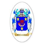 McComiskey Sticker (Oval 50 pk)