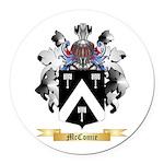 McComie Round Car Magnet