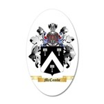 McCombe 20x12 Oval Wall Decal