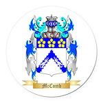 McComb Round Car Magnet