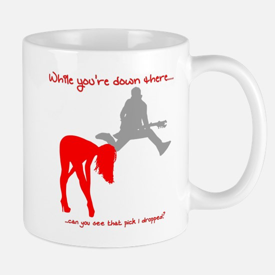 While You're Down There... Pick Mugs