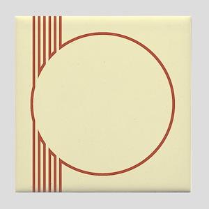 Yellow Art Deco Decorative Ceramic Tile