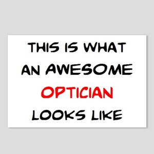 awesome optician Postcards (Package of 8)