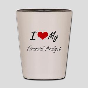 I love my Financial Analyst Shot Glass