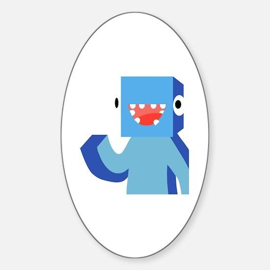 Youtubers Sticker (Oval)