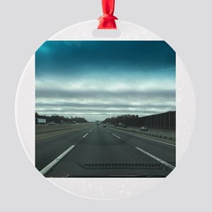 NEW JERSEY TURNPIKE Round Ornament