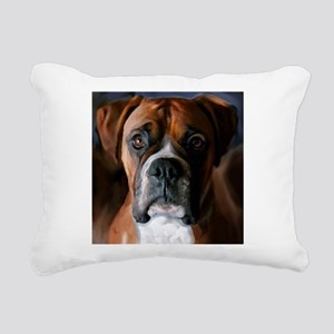3-AdoringBoxer_User Rectangular Canvas Pillow