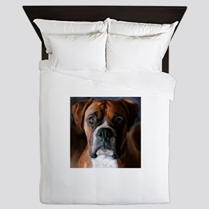 3-AdoringBoxer_User Queen Duvet