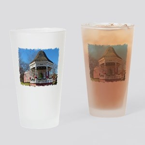 Dressed for the Holidays Drinking Glass