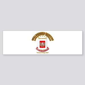 27th Engineer Bn - Afghan Vet Sticker (Bumper)