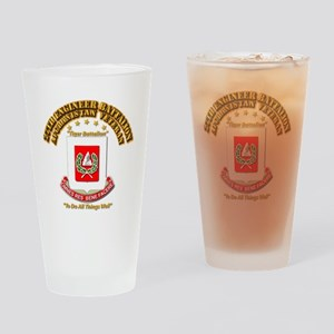 27th Engineer Bn - Afghan Vet Drinking Glass