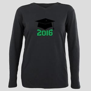 2016 Graduate Plus Size Long Sleeve Tee