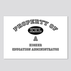 Property of a Higher Education Administrator Postc