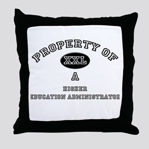 Property of a Higher Education Administrator Throw