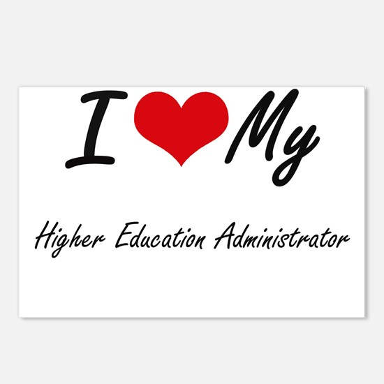 I love my Higher Educatio Postcards (Package of 8)