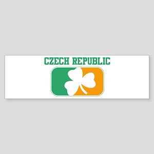 CZECH REPUBLIC irish Bumper Sticker