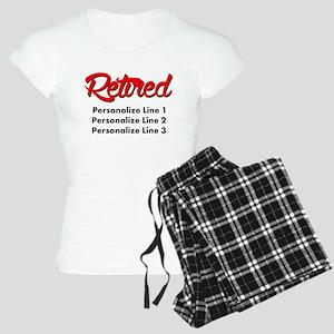 Retired Custom Women's Light Pajamas